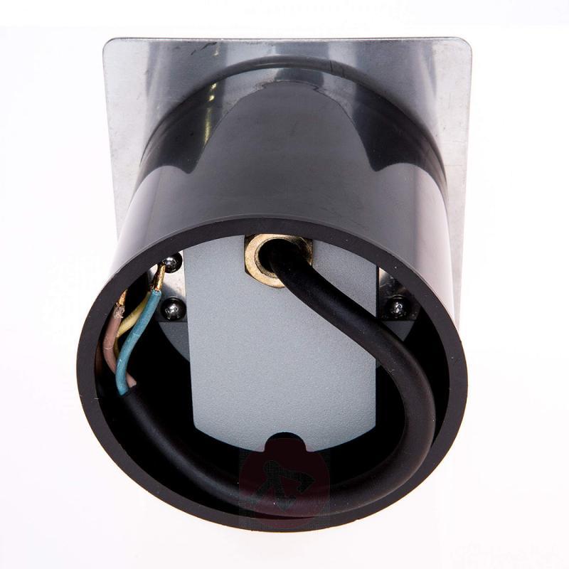 Rectangular installed LED wall light Telke, IP65 - stainless-steel-outdoor-wall-lights