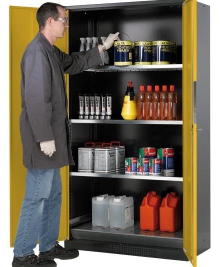 Armoire de sécurité portes pleines 1065 litres - ARMPP107A Armoires de sécurité