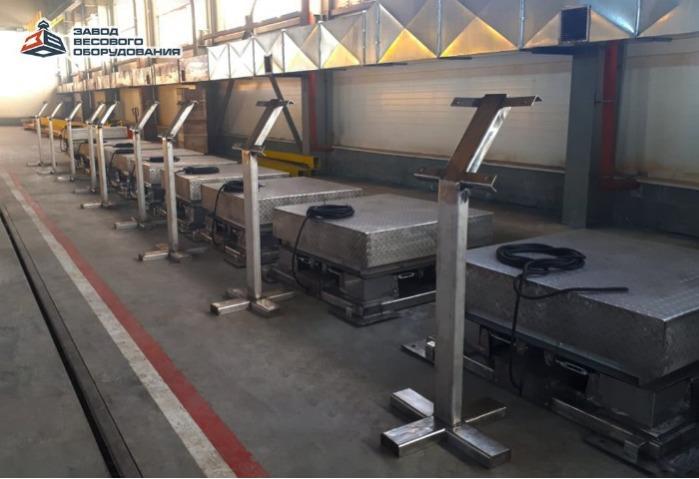 Plattformsvågar i rostfritt stål - Plattformsvågar av rostfritt stål av hög kvalitet