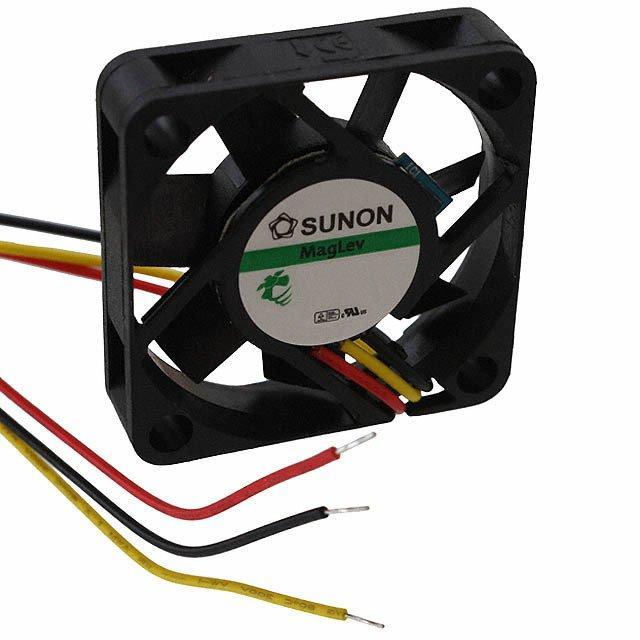 FAN AXIAL 40X10MM 12VDC WIRE - Sunon Fans ME40101V1-000U-G99