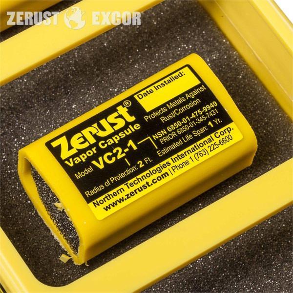 VCI-Cápsula ZERUST - Dispensador de protecção contra a corrosão volátil para instalações eléctricas
