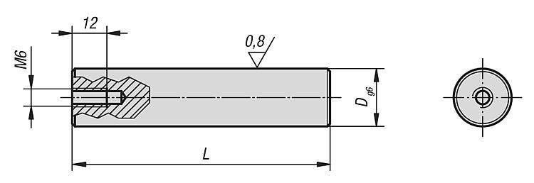 Centreur épaulé pour palette - Cimblots, systèmes de positionnement