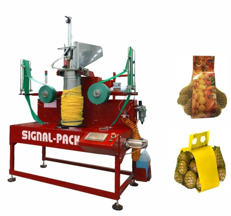 Vertical packaging machine МS 24 - VERTICAL PACKAGING MACHINES FOR VEGETABLES AND FRUIT