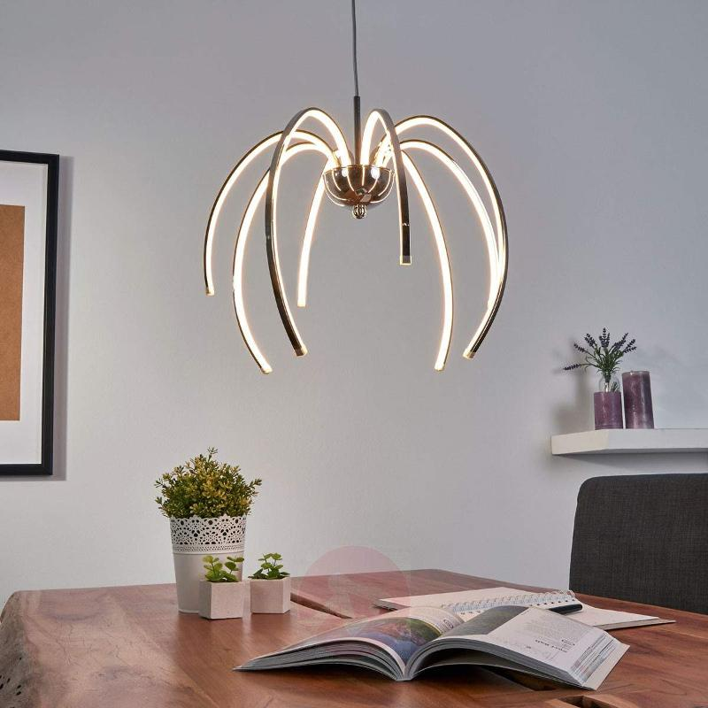 Shapely LED pendant light Daylon - Pendant Lighting