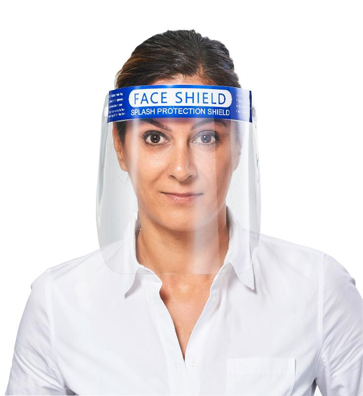 Face Shield With Anti-fog Visor - Professional protection for the whole face