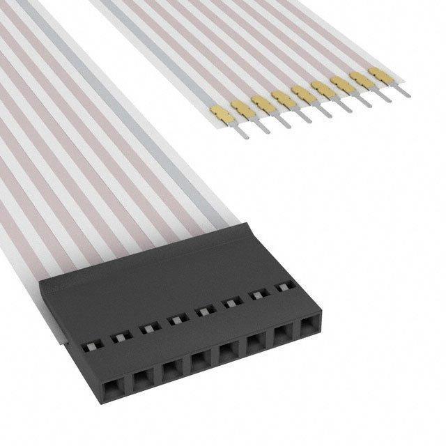 FLEX CABLE - AFF08G/AF08/AFE08T - TE Connectivity AMP Connectors A9BAG-0806F