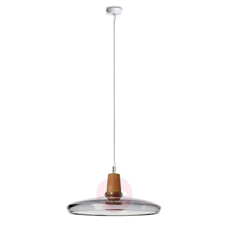 Flat designer pendant light Industrial, 36 cm - Pendant Lighting