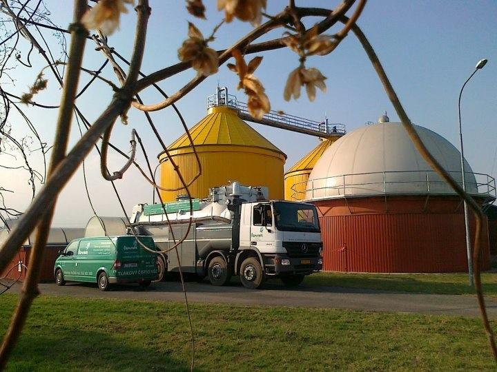 Tank Cleaning - Biogas Tank Cleaning Services in Europe