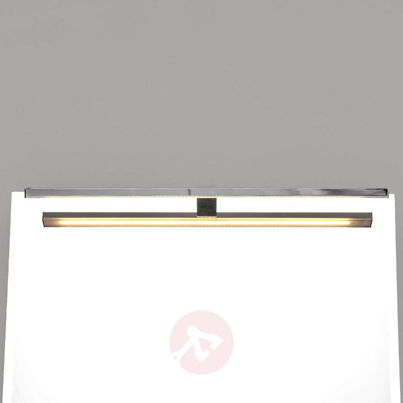 Dimmable LED mirror light EstherBiled, 50 cm long - Wall Lights