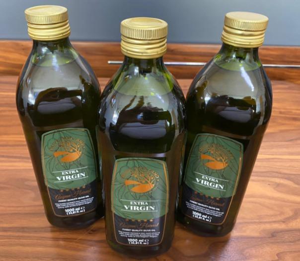 1000 ml Glass Bottle Extra Virgin Olive Oil  - Acimasiz 1000 ml Glass Bottle Extra Virgin Olive Oil