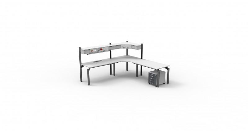 SWING-Aufbau - Tischaufbau, verschiedene Aufbauvarianten