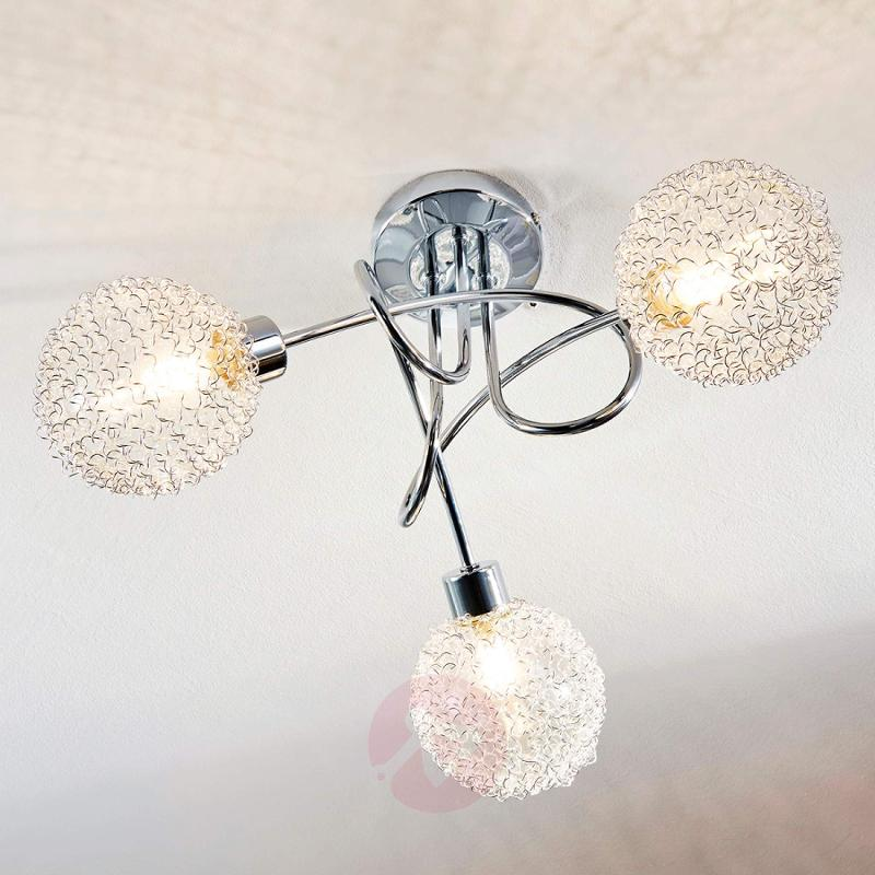 Ticino - LED ceiling lamp, 3 bulbs - indoor-lighting