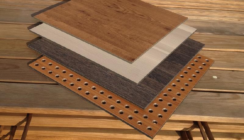 panneau mdf acoustique bois m lamin ou placage dugeny. Black Bedroom Furniture Sets. Home Design Ideas