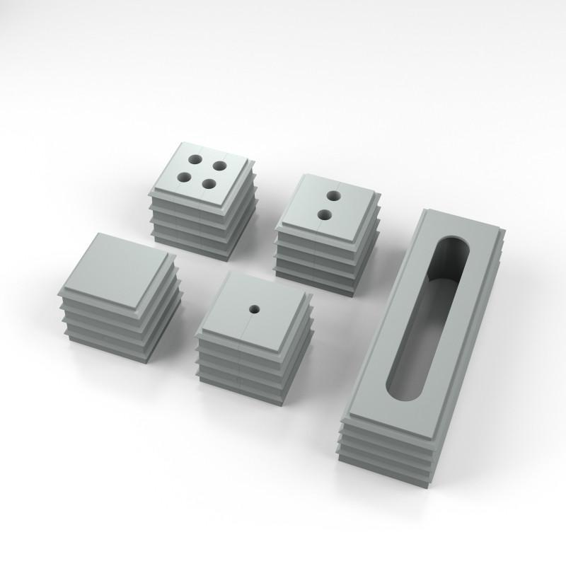 KDS-FB | Sistema de paso de cables planos - KDS-FB | El sistema de entrada de cables especial para cables planos