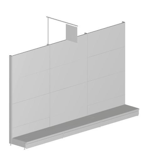 Modular shop rack systems & instore interior shelving design - Publicity holders