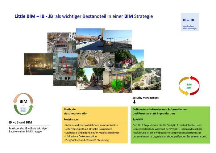 Virtueller Projektraum IB - JB - Disziplin Arbeitssicherheit und Gesundheitsschutz während der Baurealisierung