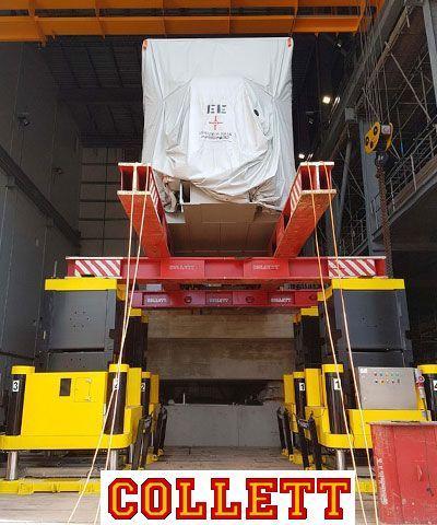 Hydraulic Jacking & Skidding - Heavy Lift Jacking & Skidding