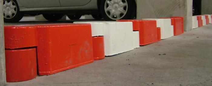 Signalisation caoutchouc & parking - Bordure de guidage