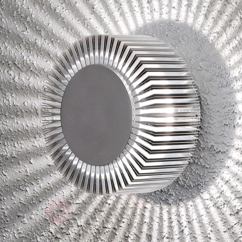 Applique d'extérieur aluminium LED Monza IP54 - Appliques d'extérieur LED
