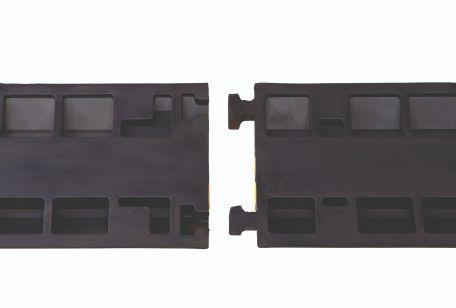Passe-câble Avec Couvercle, 2 Canaux - Ralentisseurs