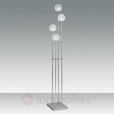 Lampadaire élégant OPLA, transparent - Tous les lampadaires