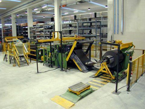 Linee di avvolgimento - Impianti per lavorazione laminati in coils