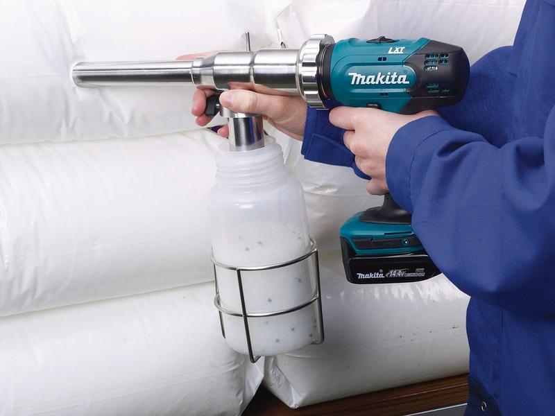 PowderProof® - Sampling device for bulk goods, sampling from drums, barrels, bags or sacks
