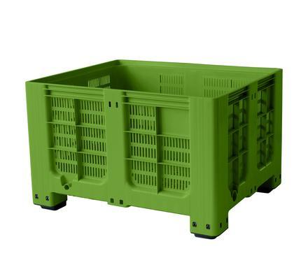 Bigboxes perforated - Plastic big box perforated - 4 feet