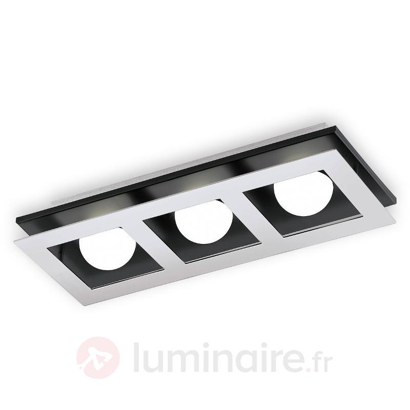 Plafonnier LED à trois flammes Bllamonte