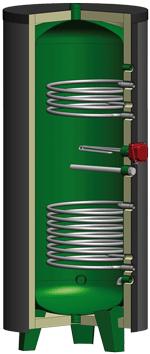 Chauffe-eau solaire  - série MIXTHERM version ATL
