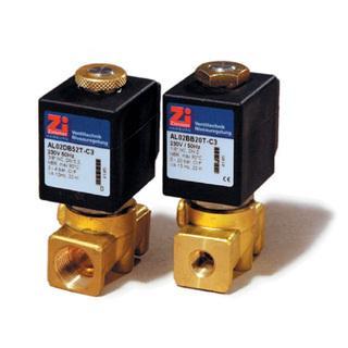 Baureihe / Type AL 02 2/2 Wege Magnetventil - null
