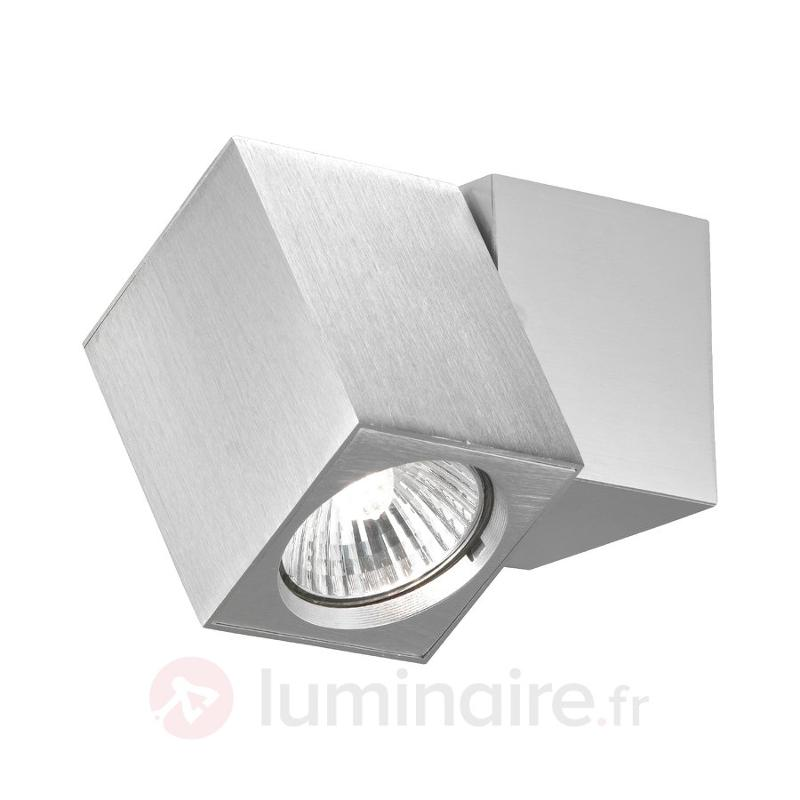 Applique inclinable à 1 lampe - Appliques chromées/nickel/inox