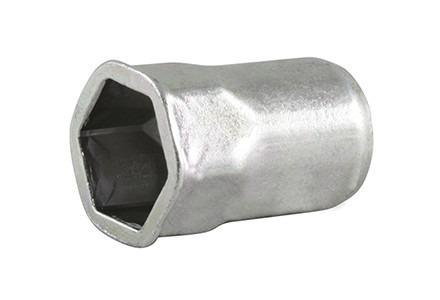Blind Rivet Nut HEXATOP -partial hexagonal- - blind rivet nuts, partial hexagonal shaft