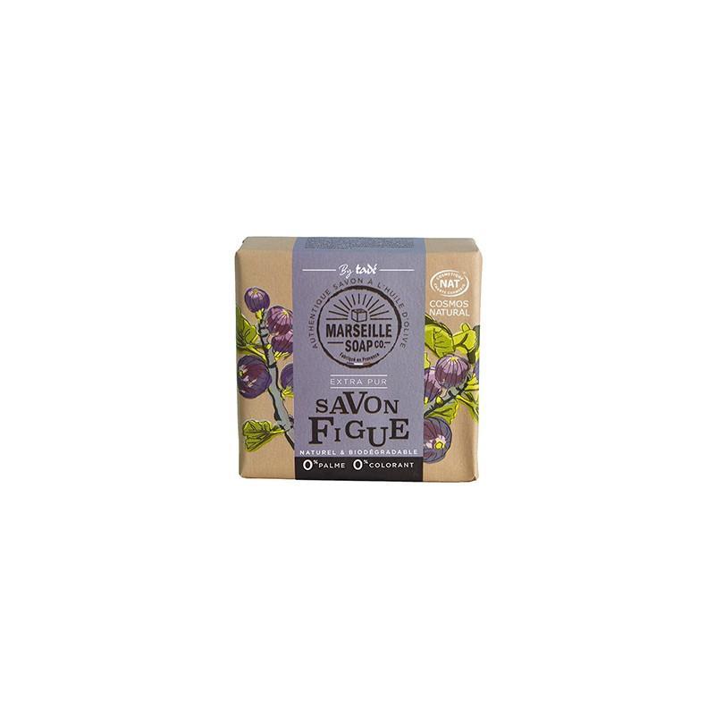 Marseille Soap Savon Figue Certifié Cosmos Nat - SAVON MARSEILLE SOAP CO