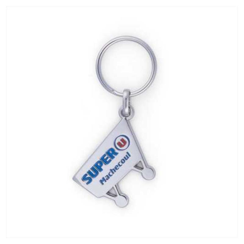 Porte-clés ZAMAC émail premium - Porte-clés métal
