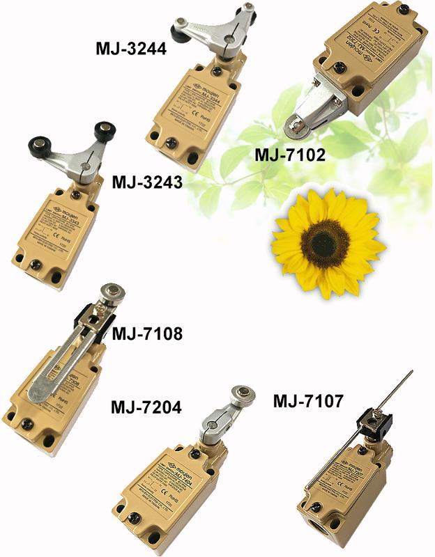 Precision Oil-tight Limit Switches - null