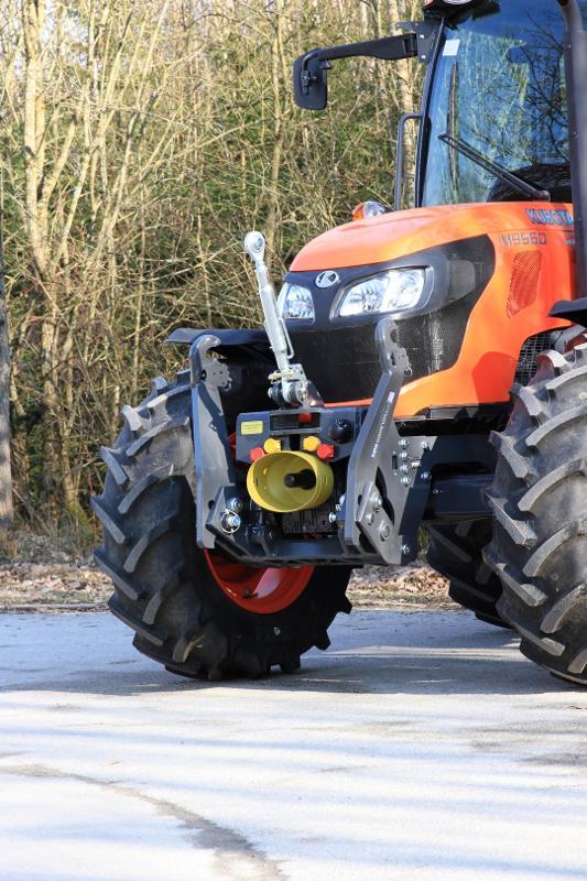 STKVF-Frontsysteme f. Kubota-Traktoren