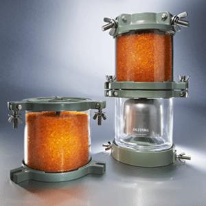 Dehydrating breathers for transformers - Dehydrating breathers for transformers in accordance with DIN