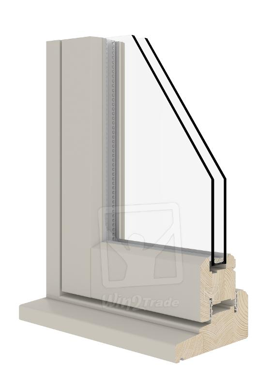 Flush Casement (Wooden Windows 56|68)