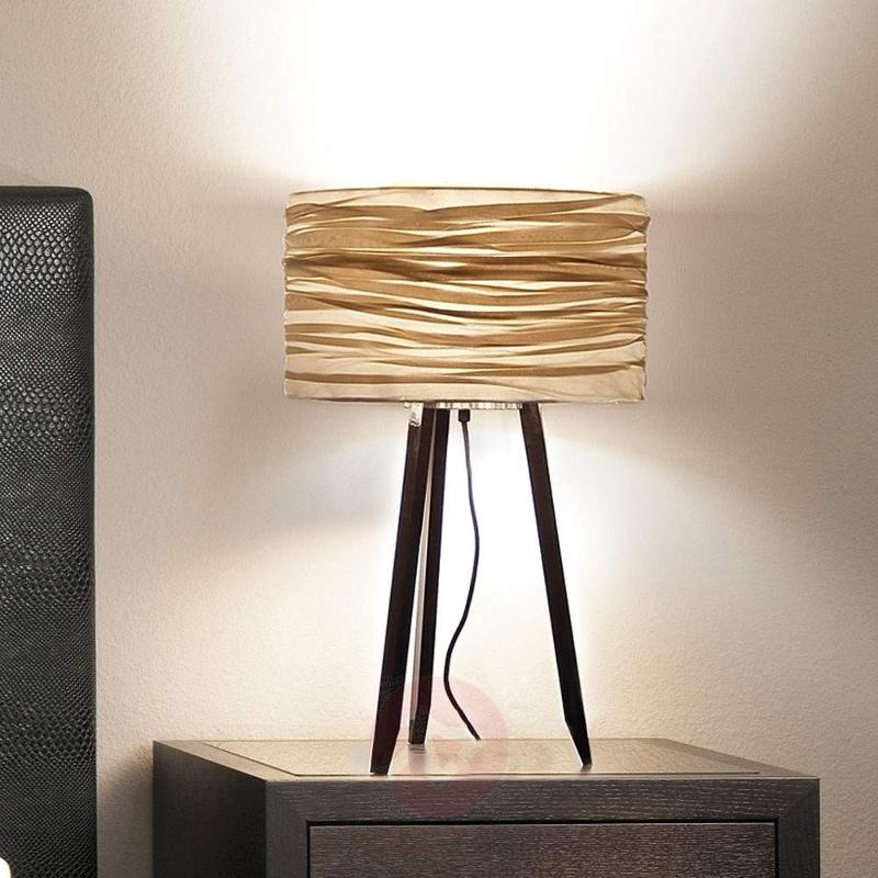 Three Legged Table Lamp Silence, Black, Gold   Table Lamps ...