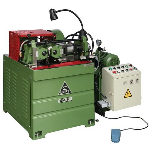 Hydraulic Thread rolling machine - The features of UM-16 thread rolling machine