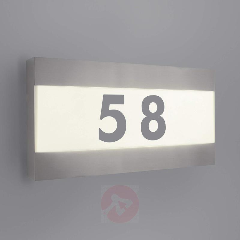 Greenyard House Number Light with LED - outdoor-led-lights