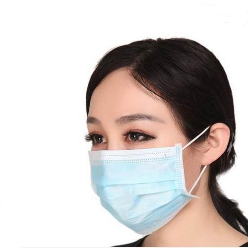 Máscara facial de filtração descartável