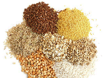 Grains, flakes, cereals - Various types of high quality organic grains, flakes and cereals