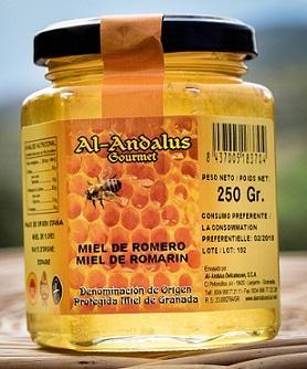 Rosemary Honey D.O. from Granada - Miel de Romero de Granada.