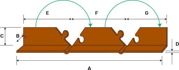 R - Profile - protection corners, protective cardboard corners, cardboard edge protectors