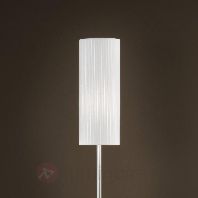 Lampadaire original SONJA avec abat-jour en plissé - Lampadaires en tissu