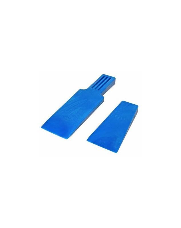 CALE DURE BLEUE 17.5cm - CALES A DEMOULER, MAILLET