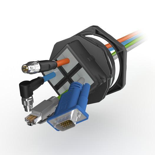 KDSClick teilbare Kabelverschraubung - null