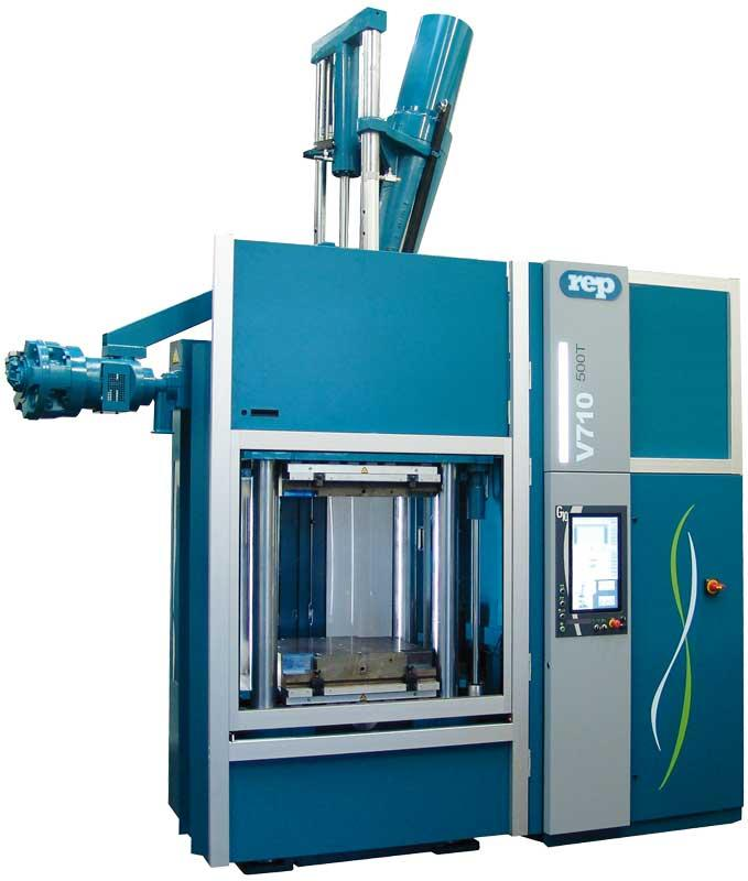 Vertical Rubber Injection Molding Machines  - Type V710 Extended - 5,100kN